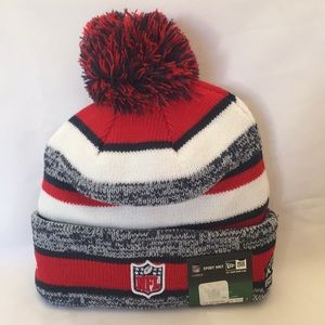 631c79e63ca23 NFL Accessories - New England Patriots sideline Knit Hat 2014 15